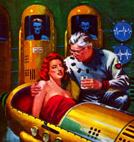 Fifties Cryonics SF Cover